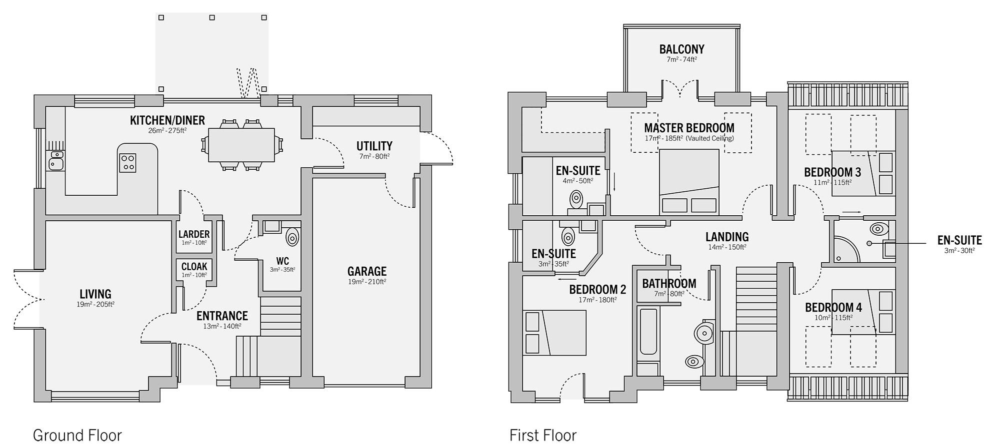 Plot 1 - Hazel House