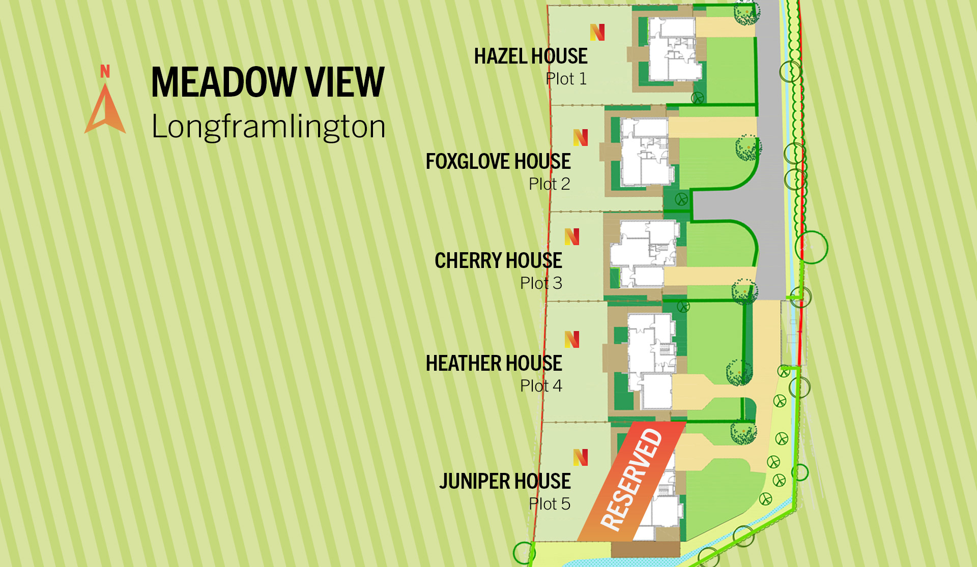 Meadow View Siteplan